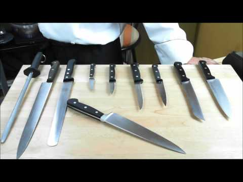 Cuisine Arts Cooking Classes - Knife Set Selection - Part 1