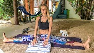 Video Yoga For Deep Sleep & Relaxation ♥ Best Way To Unwind   Blue Indigo Retreat MP3, 3GP, MP4, WEBM, AVI, FLV Maret 2018