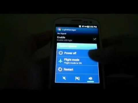 Video of Light Manager - LED Settings