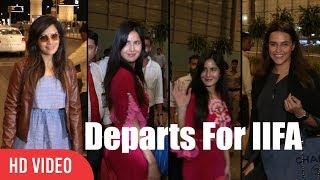 Watch Katrina Kaif, Richa Chadda And Neha Dhupia Departs For IIFA Awards  IIFA New York 2017 Company : ViralBollywood...