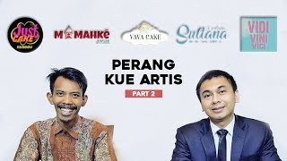 Video PERANG KUE ARTIS LAGI! MP3, 3GP, MP4, WEBM, AVI, FLV Juni 2018