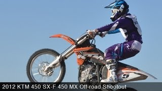 5. MotoUSA 450 MX Off-Road Shootout:  2012 KTM 450 SX-F