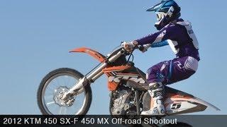 7. MotoUSA 450 MX Off-Road Shootout:  2012 KTM 450 SX-F