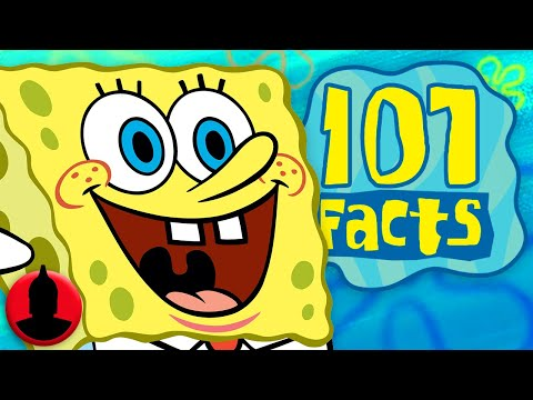 107 SpongeBob SquarePants Facts YOU Should Know! (ToonedUp #37) @ChannelFred