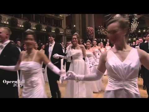Wiener Opernball 2015 - 59. Wiener Opernball - Eröffnung