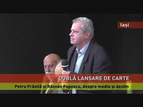 Petru Frăsilă și Răsvan Popescu, despre media şi destin