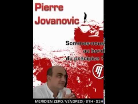 Pierre Jovanovic - Pierre Jovanovic - -Sommes-nous au bord du précipice.