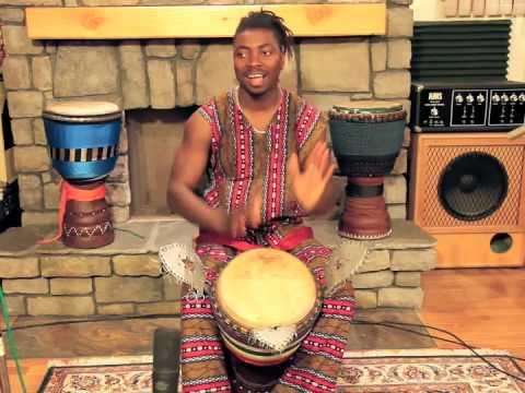 International Master Drummer, Dramane Kone – Djembe Kan 1
