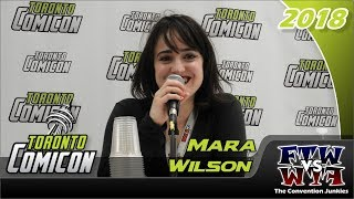 Mara Wilson (Matilda) Toronto ComiCon 2018 Full Panel