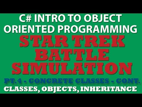 C# Star Trek Battle Simulator Pt.4: Coding our methods and game logic