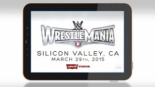 WrestleMania 31 comes to Levi's Stadium on March 29, 2015