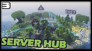 Let's Build a Server Hub in MINECRAFT 1.13 WORLD DOWNLOAD [TIMELAPSE] #3 ft. Archelaus