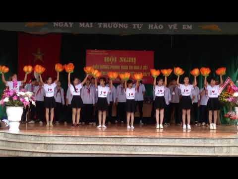 Tiết mục văn nghệ của học sinh trường Thcs Chiến Thắng chào mừng ngày 20-11 năm học 2017-2018