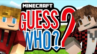 """Minecraft Guess Who 2! """"REMATCH"""" (Minecraft Guess Who Mini-Game) w/TheBajanCanadian"""