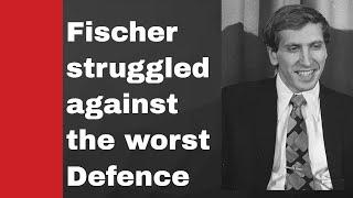 Fischer vs McGregor -- Struggle against Damiano Defence