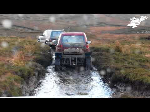 PREVIEW Quarry Adventures Off-Roading Donegal (Christmas Greenlane Part 3)