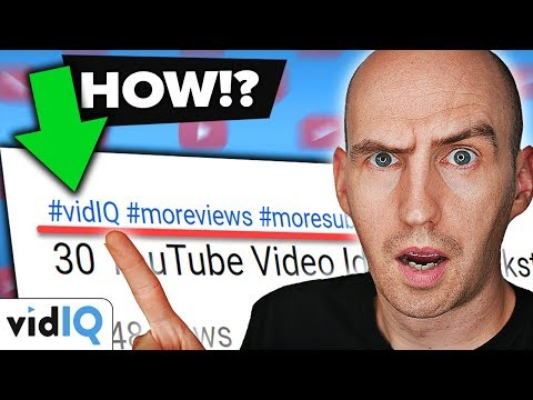 Youtube Hashtags 2018 - What Are They and How to Use Them!
