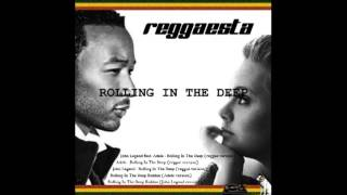 John Legend - Rolling In The Deep (reggae version by Reggaesta)