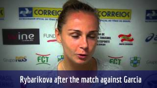 Magdalena Rybarikova avança para enfrentar Venus Williams no Brasil Tennis Cup
