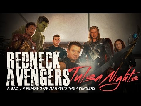 Redneck Avengers - A Bad Lip Reading of Marvel's Avengers