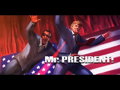 Protege a Donald Trump como guardaespaldas con Mr. President!