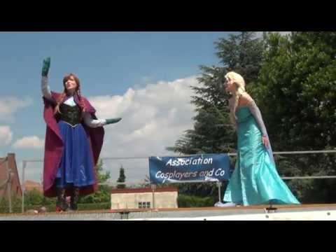 La Reine des Neiges : Anna & Elsa Frozen Cosplay