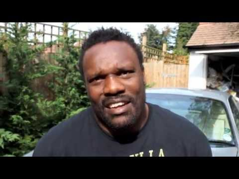 Better - DERECK CHISORA - 'CAMP IS GOING WELL, TYSON FURY BETTER BE READY FOR WAR' / CHISORA v FURY 2.