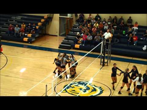 Highlights: MCC volleyball vs. Iowa Lakes (9/17/2014)