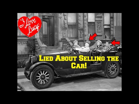 SHOCKING! Fred and Ricky LIED About Selling the Cadillac on I Love Lucy! Here's Why!