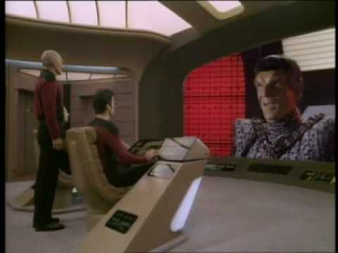 "ST TNG ""The Defector"" - Picard OWNS Tomalak"