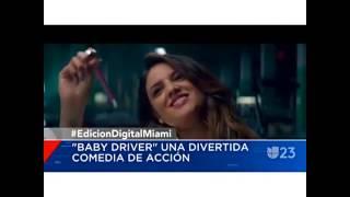 Entrevista con Eiza Gonzalez Baby Driver