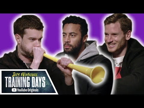 Most Stressful Meditation EVER with Jan Vertonghen & Mousa Dembélé | Jack Whitehall: Training Days (видео)