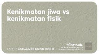 KENIKMATAN JIWA VS KENIKMATAN FISIK (2 menitan)