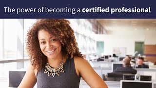 The power of becoming a certified professional with Learning People