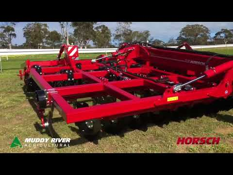 Mingenew Midwest Expo Horsch Tiger 6MT on display