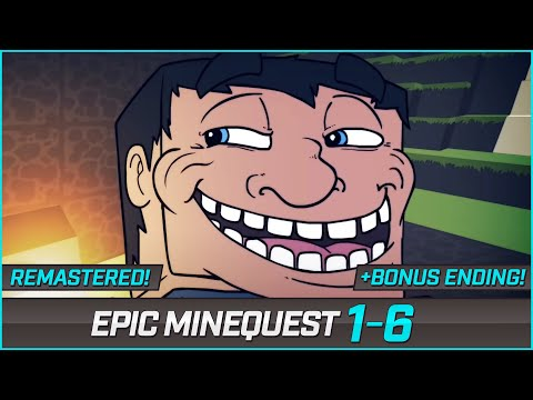 EPIC MINEQUEST 1-6 + BONUS ENDING! by Sam Green Media