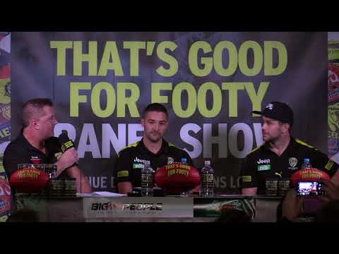 "Footy Show That's Good For Footy Presents ""footy Funatics"" Ep 10 May 30th 2018 Richmond"