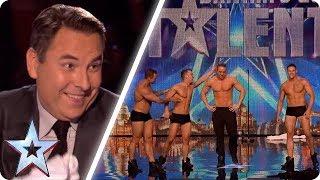 Video These dancers make David blush! | Britain's Got Talent Unforgettable Audition MP3, 3GP, MP4, WEBM, AVI, FLV Oktober 2018
