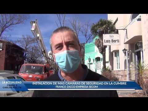 NOTA A FRANCO ZACCO DE SECOM: INSTALACION DE MAS CAMARAS DE SEGURIDAD EN LA CUMBRE