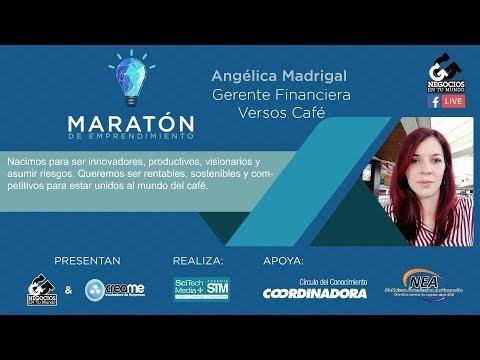 Versos de amor - Angélica Madrigal García, de Versos Café, en la Maratón de Emprendimiento [Negocios en Tm]