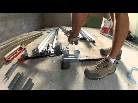 comment poser ossature métallique pour placo
