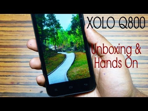 XOLO Q800 Unboxing & Hands on Review by Gadgets Portal