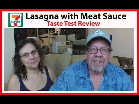 7-Eleven Lasagna with Meat Sauce Taste Test Review | JKMCraveTV