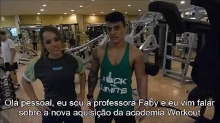 Novo aparelho da Academia Workout Tijuca