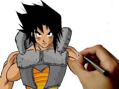 Dragon Ball z Cartoon Drawings Draw Cartoon Dragon Ball z