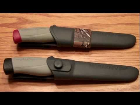 Mora - Just a short knife review video..This knife was a gift from my son for xmas. The Mora HighQ Robust in my opinion is a common man's knife all the way. It can ...