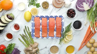 Parchment Baked Salmon 4 Ways // Presented by LG USA by Tasty