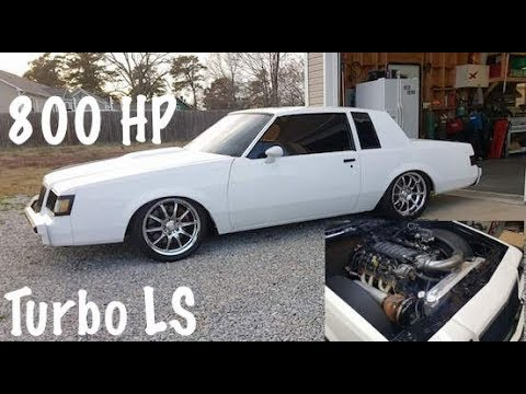 Dad Rides In 800 Hp Turbo Buick