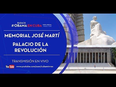 Barack Obama en el Palacio de la Revolución de La Habana