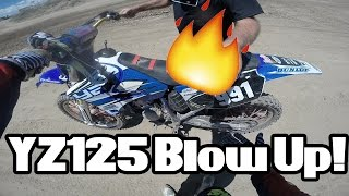 8. 2003 YZ 125 Blowing Up!